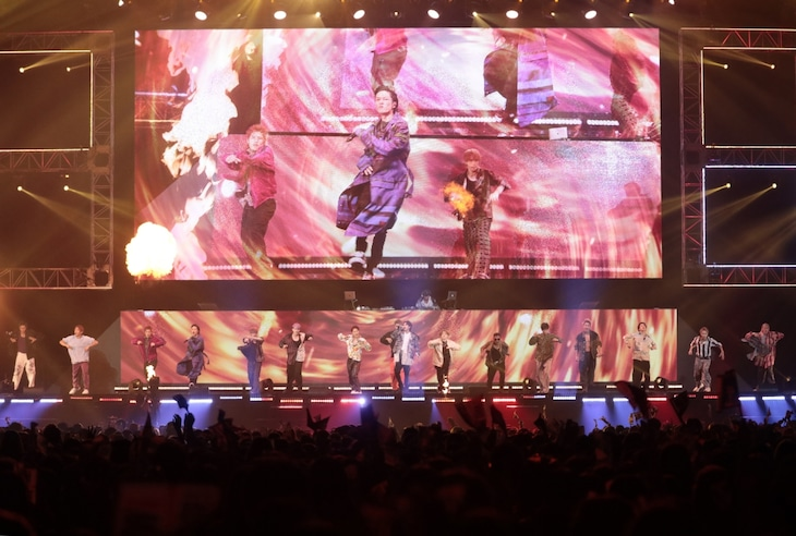「HiGH&LOW THE WORST VS THE RAMPAGE from EXILE TRIBE 完成披露試写会&PREMIUM LIVE SHOW」9月17日公演の様子。