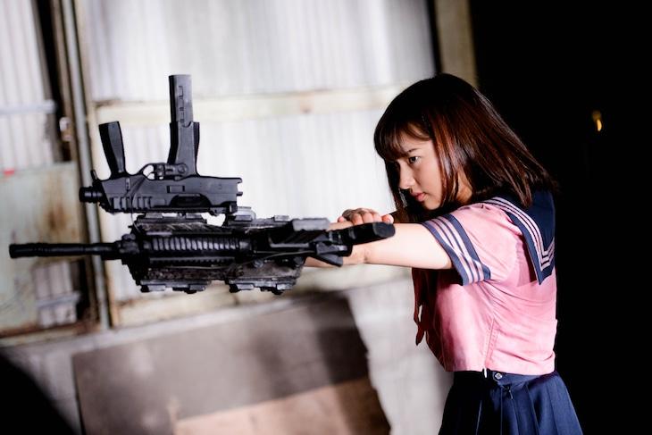 「爆裂魔神少女 バーストマシンガール」新場面写真