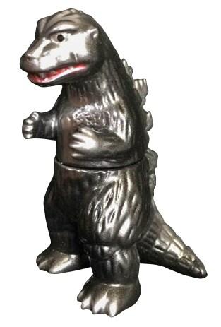 ゆ~えすポケット ミニソフビ「ビル箱」怪獣シリーズのBBゴジラ1954(3850円)。