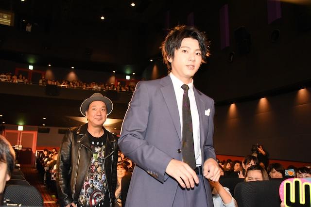 左から久保茂昭監督、山田裕貴。