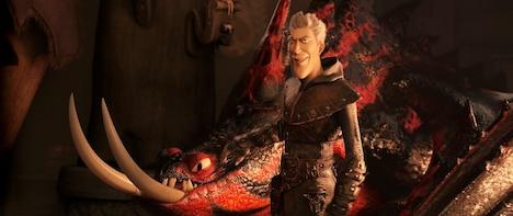 「ヒックとドラゴン 聖地への冒険」より、グリメル。