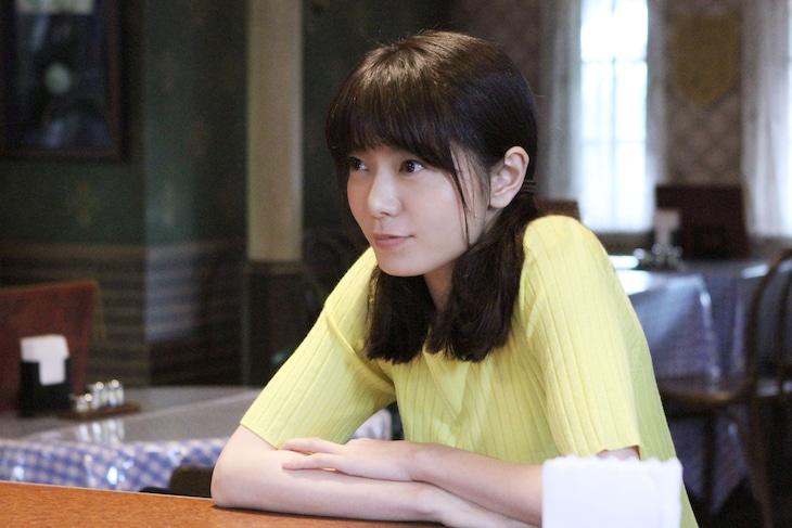 「磯野家の人々~20年後のサザエさん~」より、森矢カンナ演じる花沢花子。