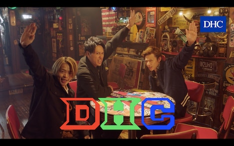 「DHC×『HiGH&LOW THE WORST』× feat.DTC+KH」のワンシーン。