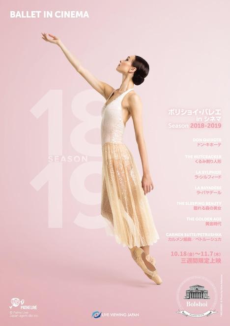 「ボリショイ・バレエ in シネマ Season 2018-2019」ビジュアル