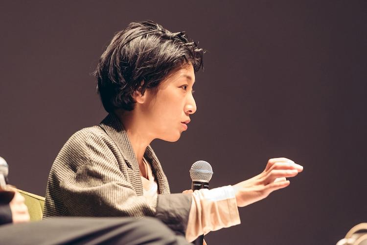 安藤サクラ(Photo by Miki Azuma)