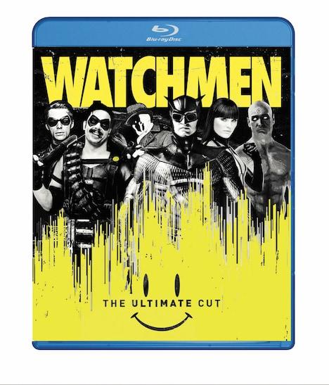 「ウォッチメン アルティメット・カット版」Blu-rayジャケット