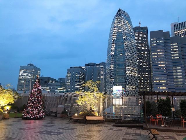 小田急百貨店新宿店 本館の屋上広場。