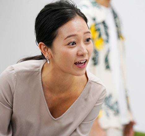 工藤綾乃演じる松井。