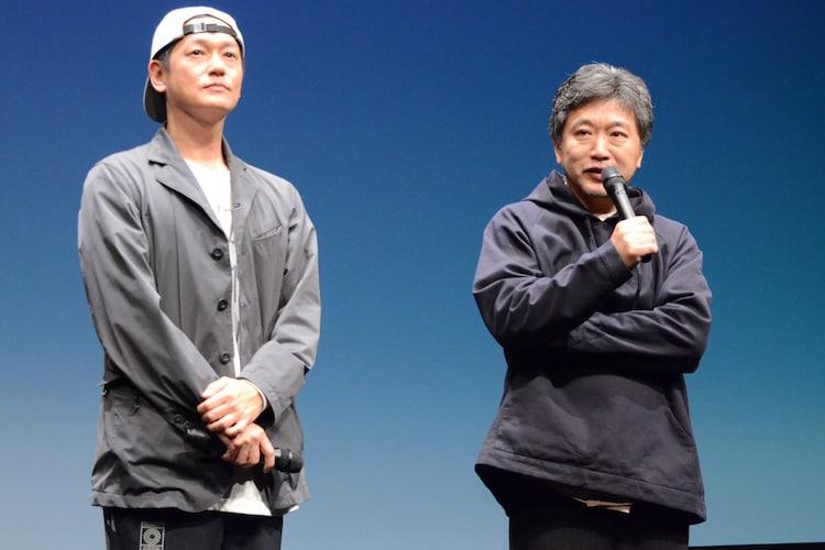 是枝裕和と井浦新が急遽登壇、上映中止騒動に意見「作り手に対する敬意 ...