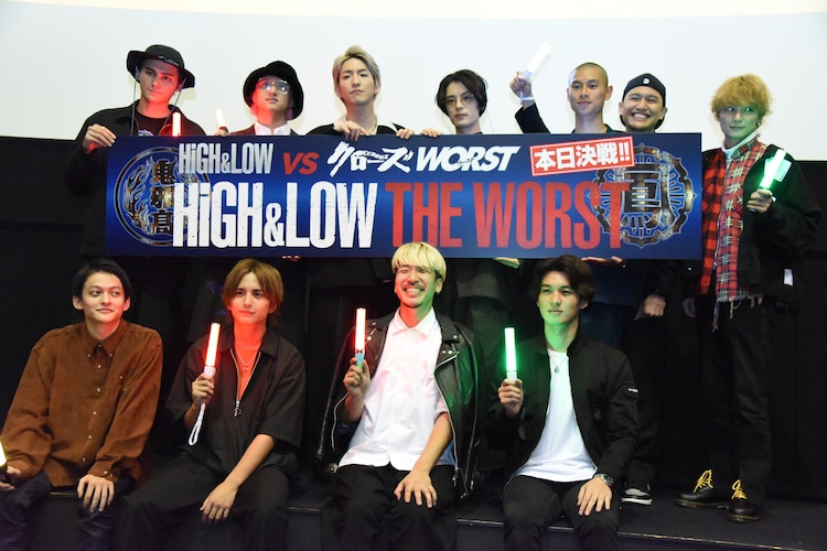 """「HiGH&LOW THE WORST」""""応援上映スペシャル""""の様子。"""