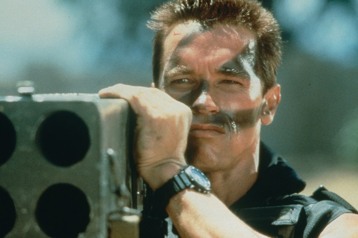 「コマンドー(4Kニューマスター版)」 (c)1985 Twentieth Century Fox Film Corporation. All rights reserved.