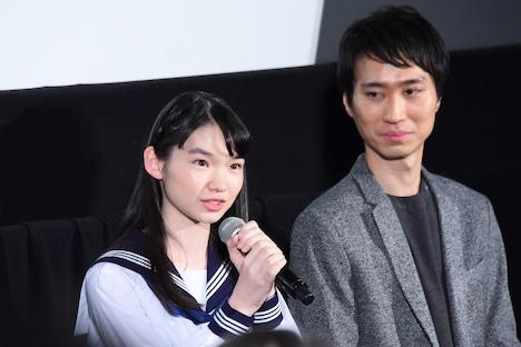 左から吉田玲、厚木拓郎。