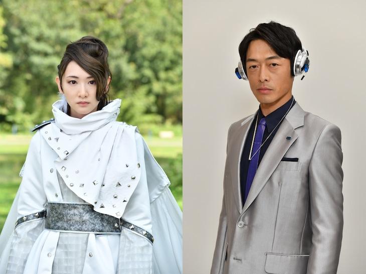 左から生駒里奈演じるフィーニス、和田聰宏演じるウィル。