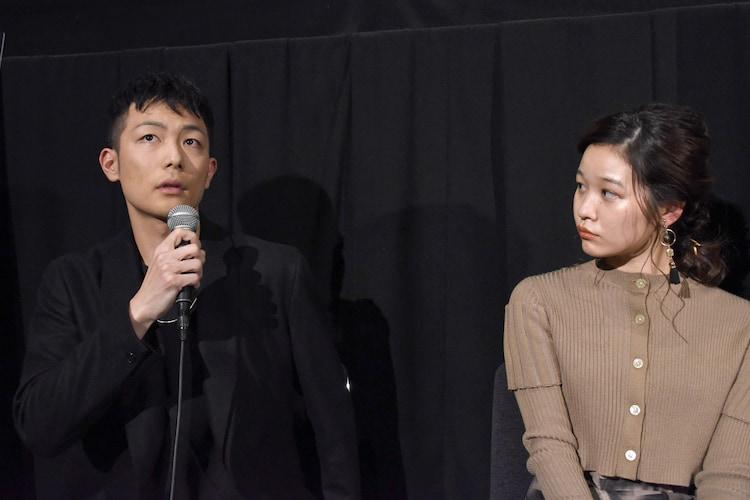 左から田中俊介、森田想。