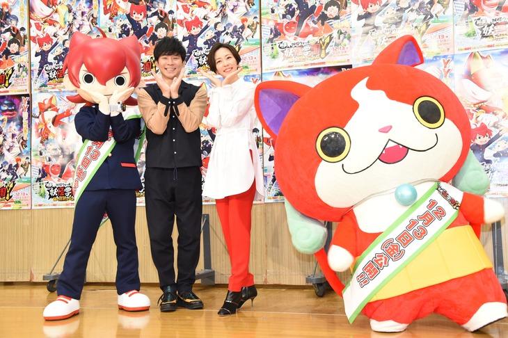 「映画 妖怪学園Y 猫はHEROになれるか」公開アフレコイベントの様子。