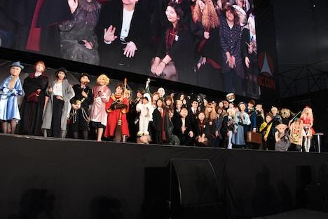 「ハリー・ポッター」スペシャルステージの様子。