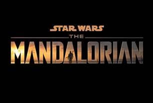 「マンダロリアン」ロゴ (c)2019 Lucasfilm Ltd. All Rights Reserved.