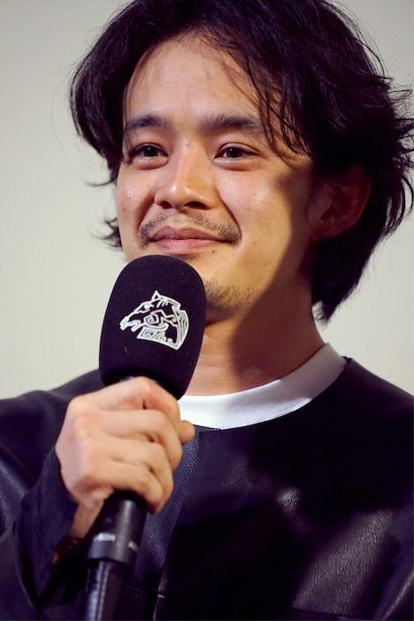 台北金馬映画祭に参加した池松壮亮。(写真提供:Thomas0919)