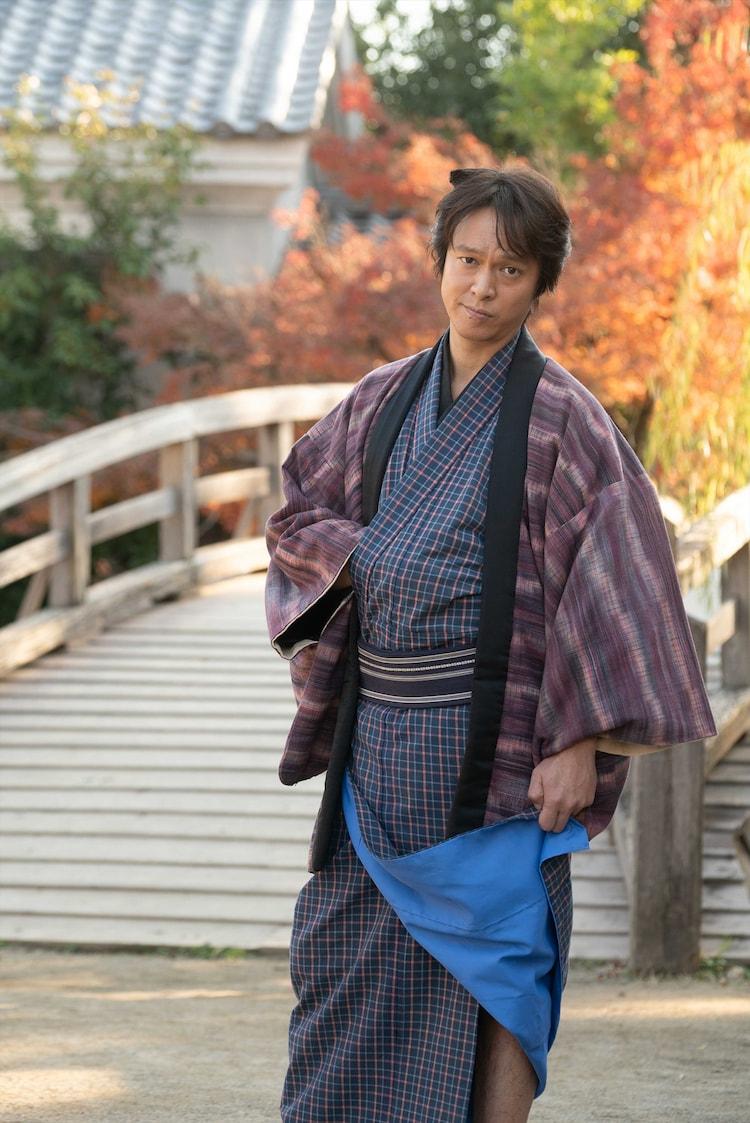 丸山隆平扮する辰五郎。