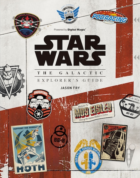 「STAR WARS THE GALACTIC EXPLORER'S GUIDE」表紙
