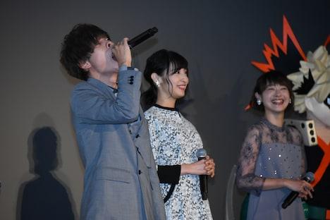 「かっちゃんって呼べ!」と叫んだあとに名前を呼ばれ、感謝を述べる岡本信彦(左)。