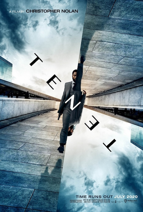 「TENET テネット」ティザービジュアル