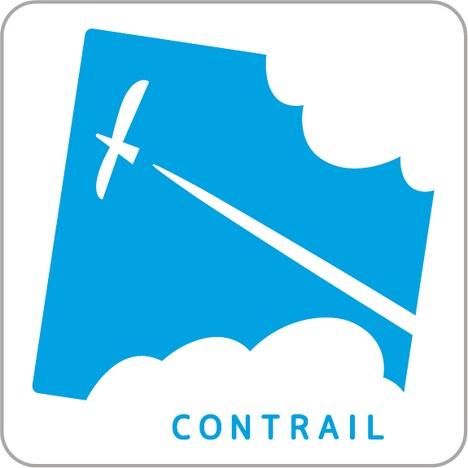 「コントレール」会社ロゴ