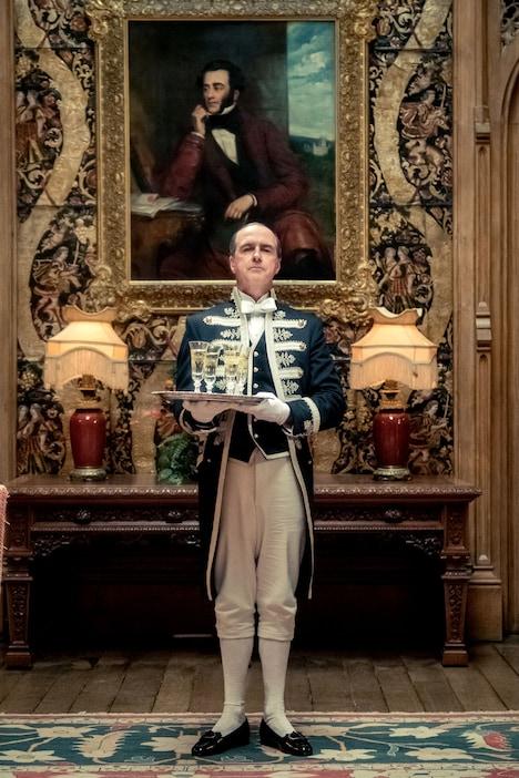 「ダウントン・アビー」より、ケヴィン・ドイル演じるジョセフ・モールズリー。