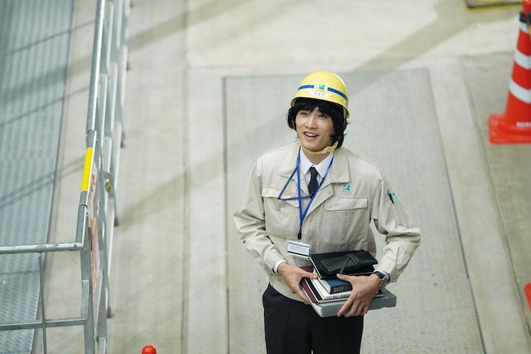 「前田建設ファンタジー営業部」より、町田啓太演じるヤマダ。