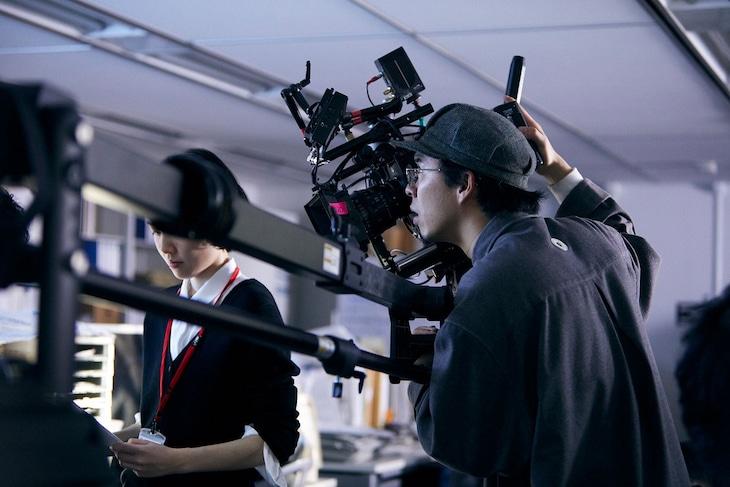 「新聞記者」で撮影賞を受賞した今村圭佑。
