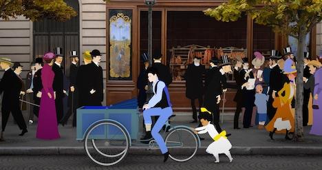 「ディリリとパリの時間旅行」