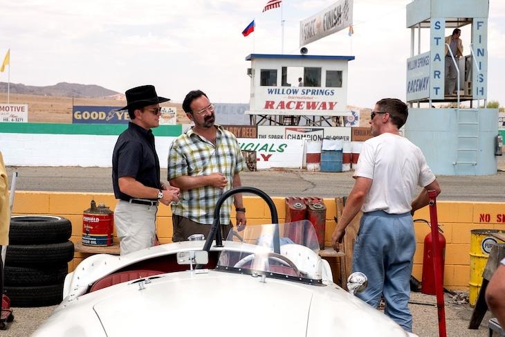「フォードvsフェラーリ」メイキング写真