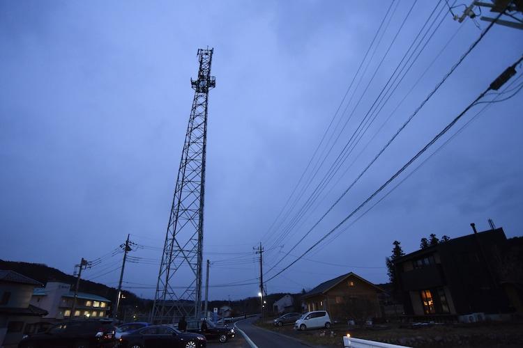 「犬鳴村」の撮影で使われた埼玉・飯能の鉄塔。
