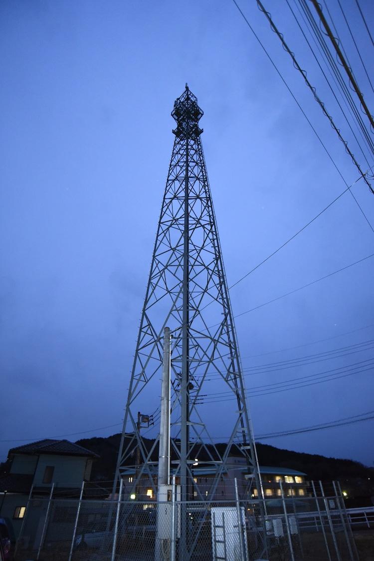 「犬鳴村」のロケで使われた埼玉・飯能の鉄塔。