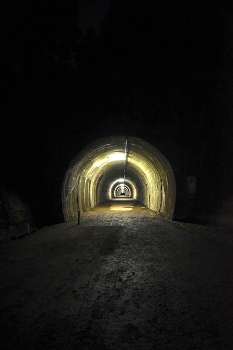 「犬鳴村」の撮影で使われた旧吹上トンネル。