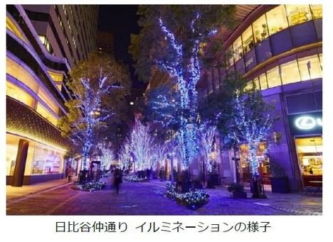 「映画『キャッツ』×HIBIYA Magic Time Illumination」
