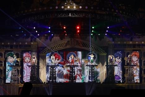 「KING OF PRISM SUPER LIVE Shiny Seven Stars!」の様子。