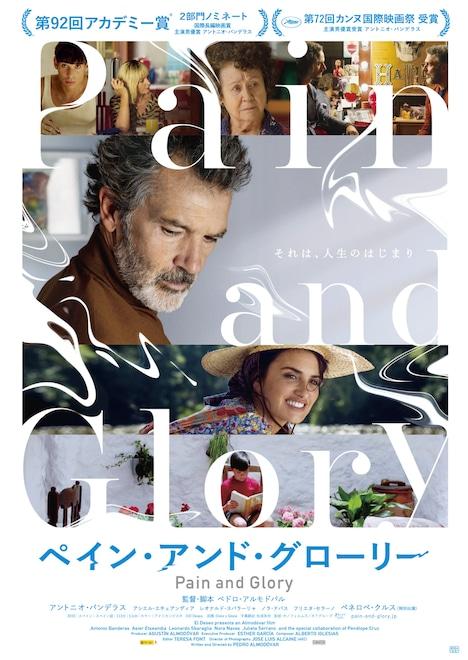 「ペイン・アンド・グローリー」日本版オリジナルポスター