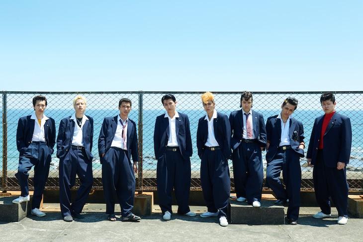 ドラマ「湘南純愛組!」それぞれの役に扮した出演者たち。