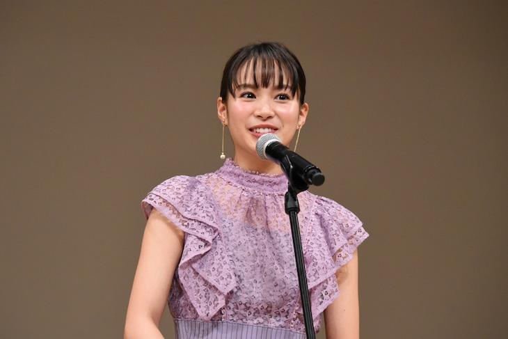 第62回ブルーリボン賞の授賞式に出席した関水渚。