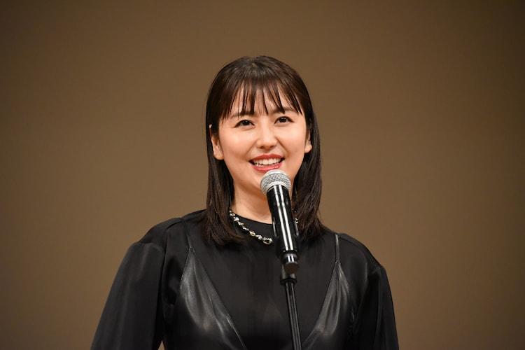 第62回ブルーリボン賞の授賞式に出席した長澤まさみ。