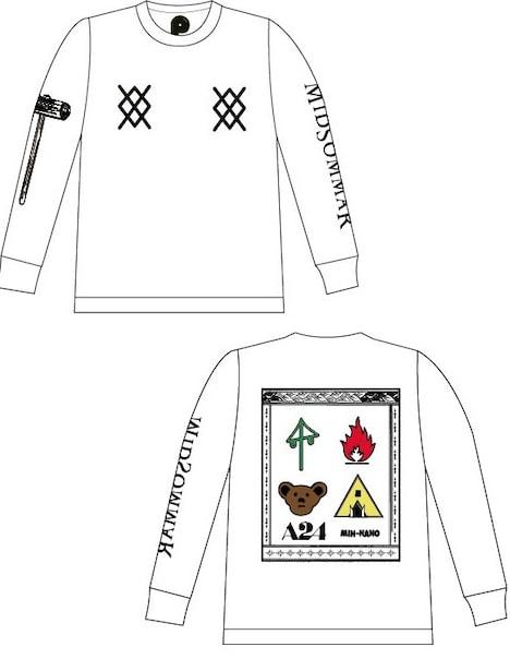 D賞のA24×MIN-NANO×POPEYE限定Tシャツ。