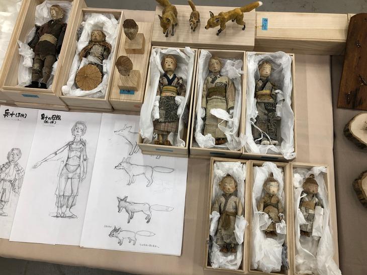 「ごん / GON, THE LITTLE FOX」ギャラリー展示のイメージ。