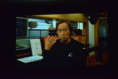 武田鉄矢によるビデオメッセージ。