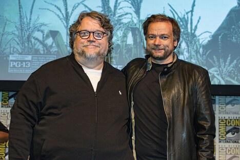 左からギレルモ・デル・トロ、アンドレ・ウーヴレダル。