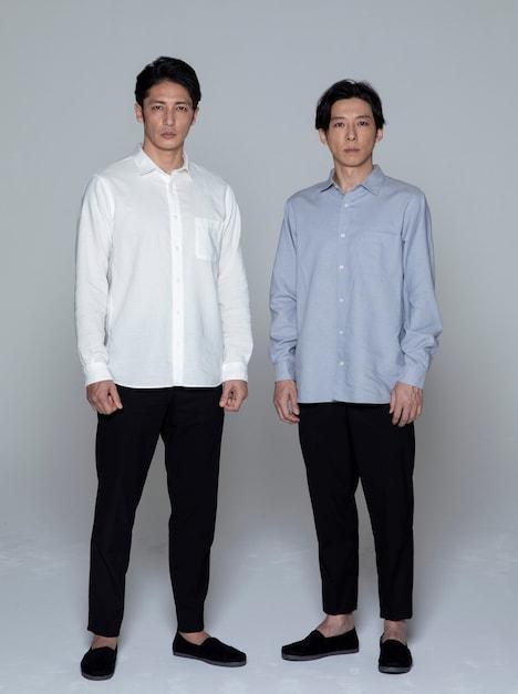 左から玉木宏、高橋一生。