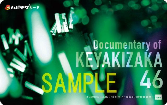 「僕たちの嘘と真実 Documentary of 欅坂46」ムビチケカード