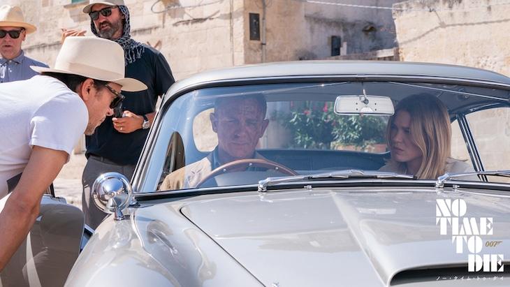 「007/ノー・タイム・トゥ・ダイ」メイキング写真