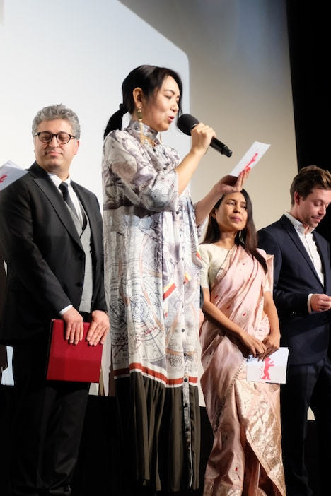 第70回ベルリン国際映画祭の授賞式の様子。