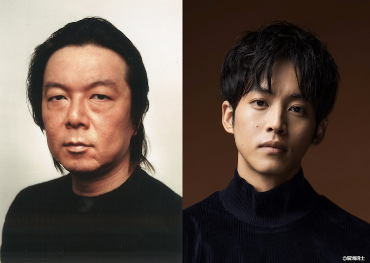 左から古田新太、松坂桃李。
